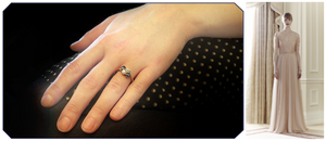 british briday style engagement ring