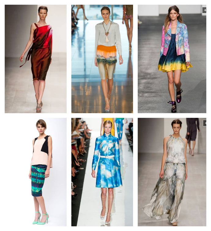 Style Forecast: Dreamy Watercolors and Painted on Patterns