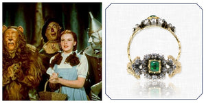 Wizard of Oz and Vintage Emerald Ring