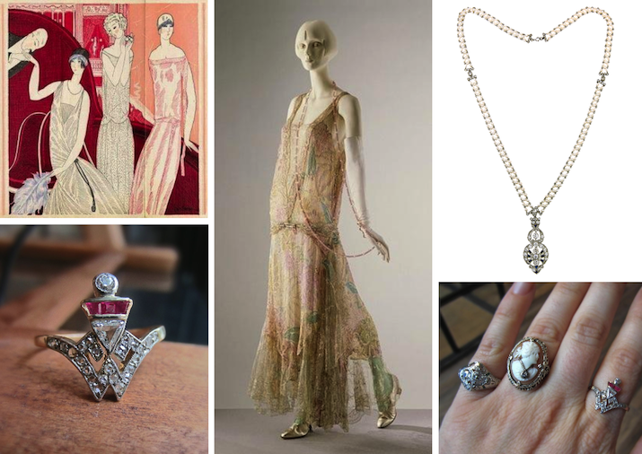 Art Deco Jewelry from Doyle & Doyle with Art Deco Fashion Inspiration