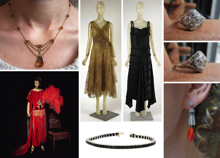 Art Deco Accessories from Doyle & Doyle with Art Deco Fashion Inspiration
