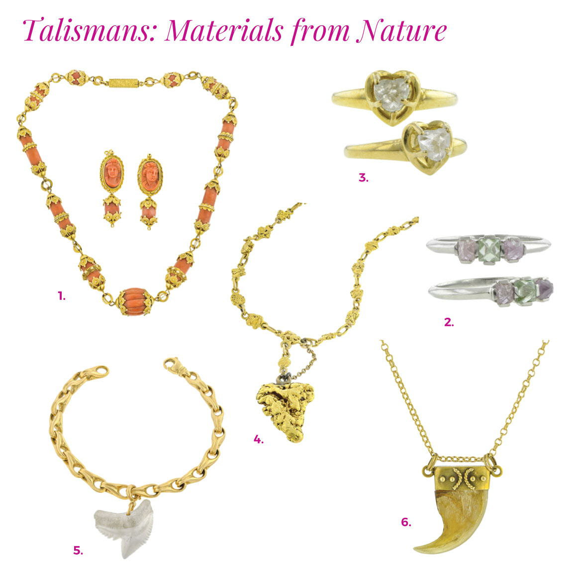 doyle doyle natural material talismans catalog