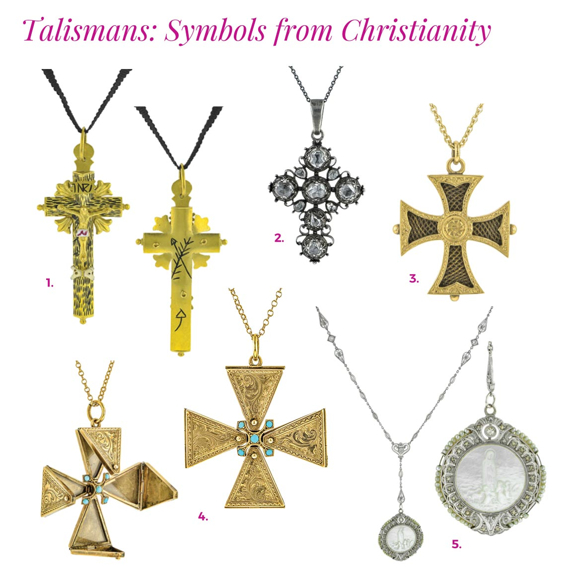 doyle and doyle religious talismans antique cross jewelry catalog