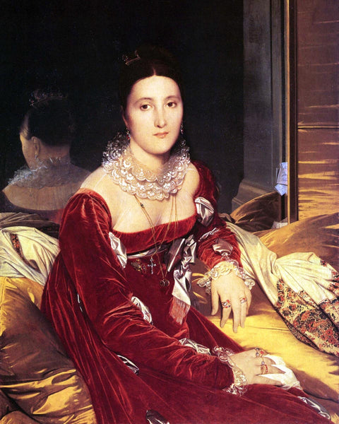 1814 Portrait of Madame de Senonnes by Ingres