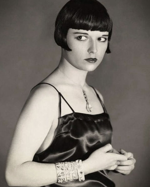 1920s Louise Brooks Art Deco Jewelry