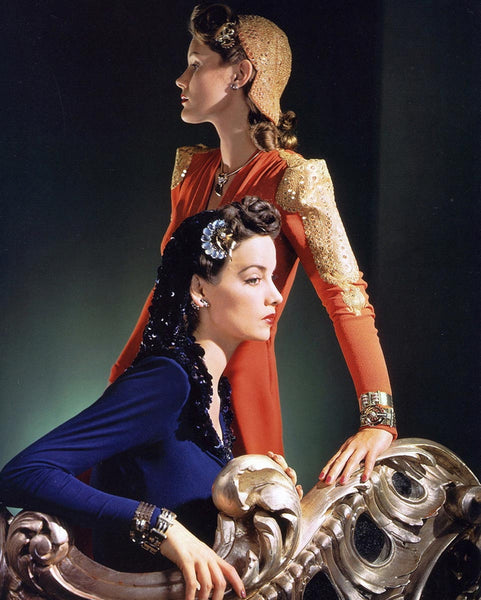 Nettie Rosenstein Dresses by Horst P Horst for Vogue Nov 1, 1940.