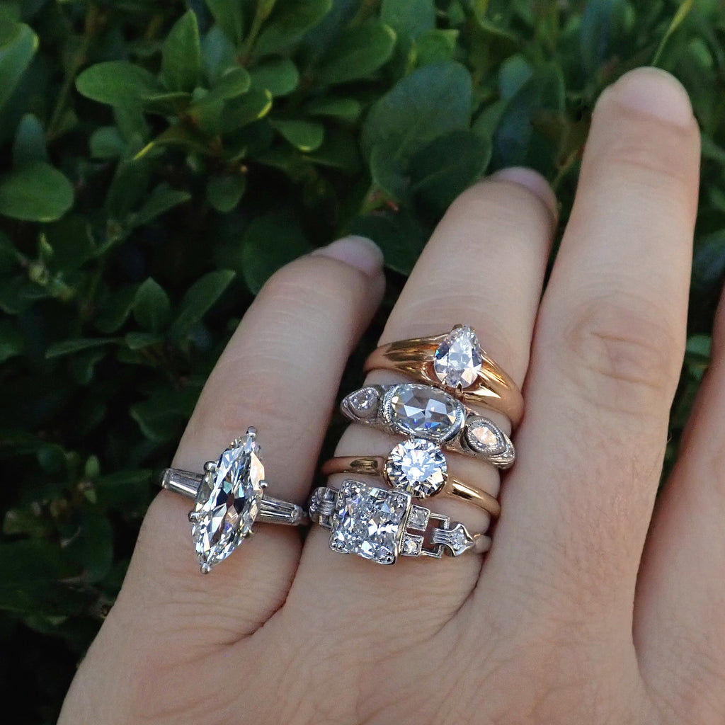 Doyle and Doyle vintage, antique, and estate engagement rings