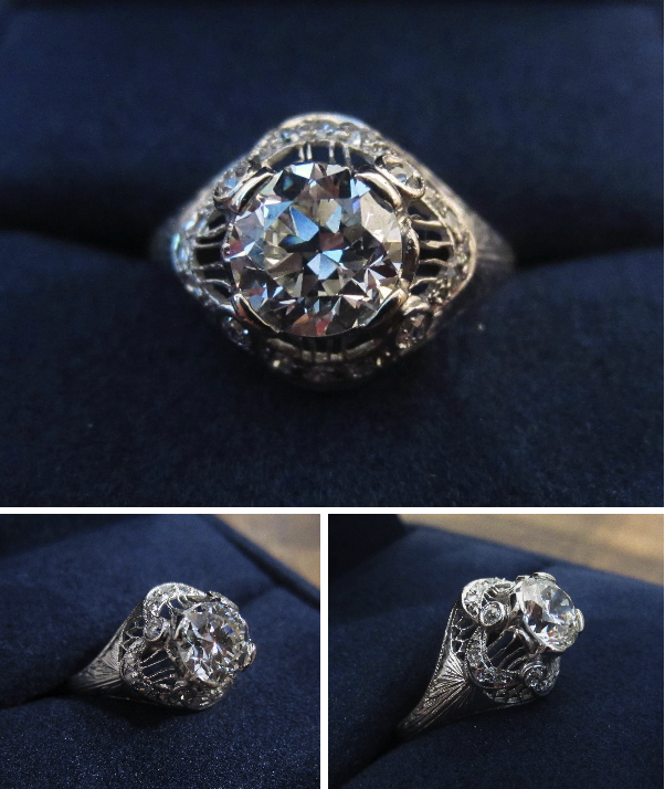 Doyle & Doyle edwardian diamond ring