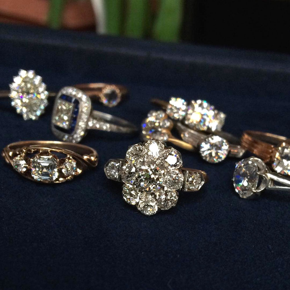 Doyle & Doyle vintage diamond engagement rings