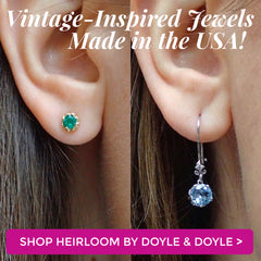 Shop Vintage Inspired Jewelry from Heirloom by Doyle & Doyle in New York
