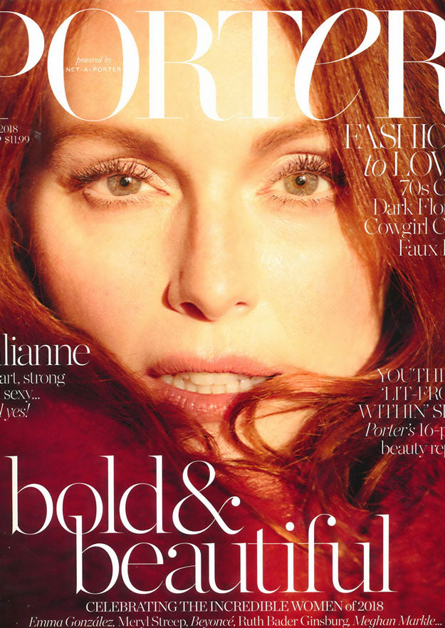 Porter cover Julianne Moore November 2018