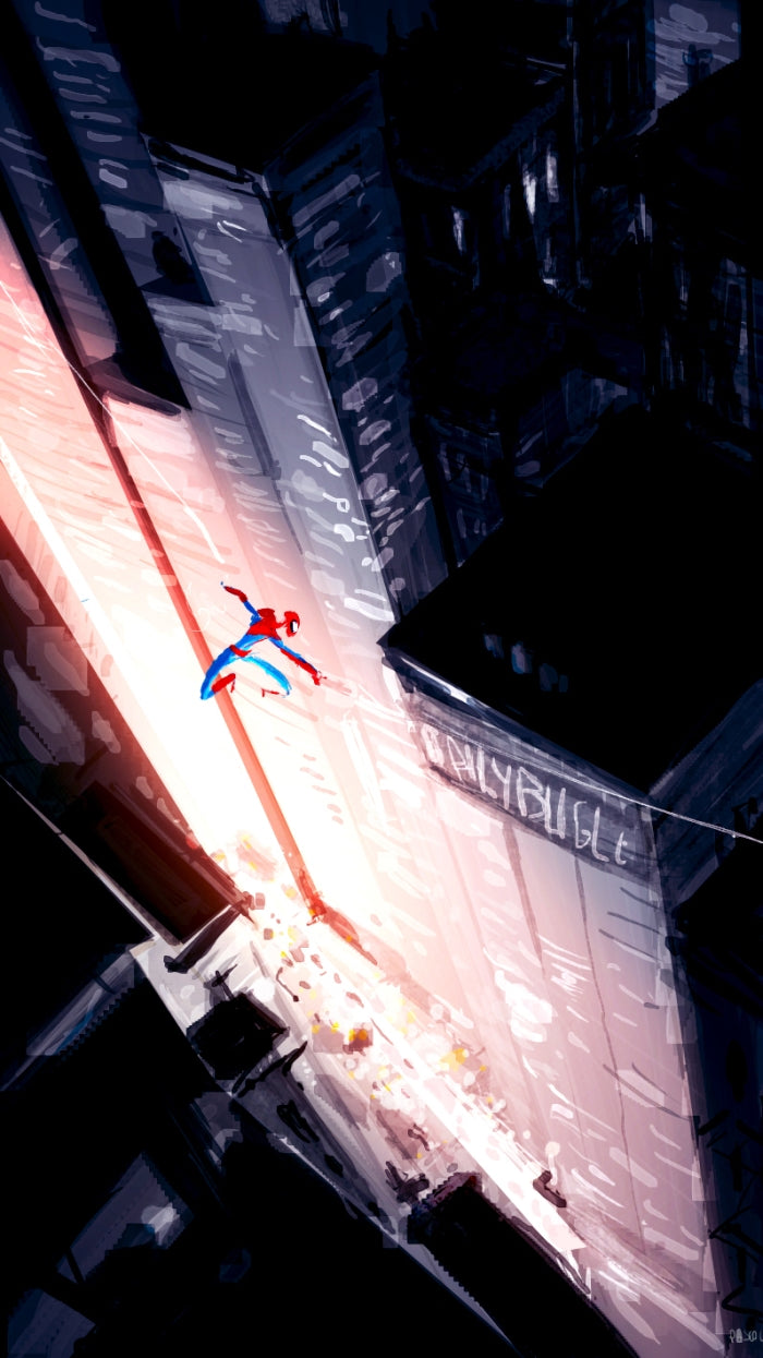 spiderman by pascal campion