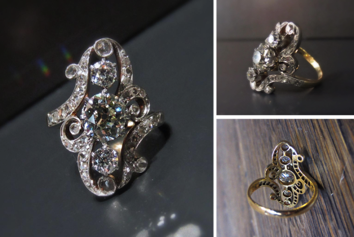 French Belle Epoque Dinner Ring from Doyle & Doyle