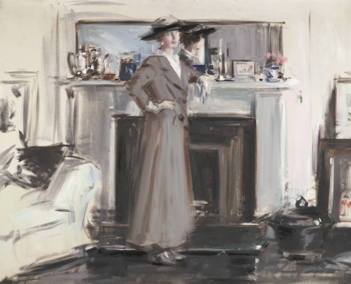 Francis Campbell Boileau Cadell Reflections Painting