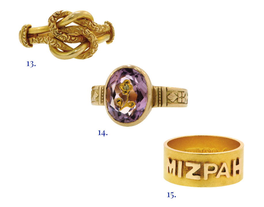 sentimental rings, mizpah ring