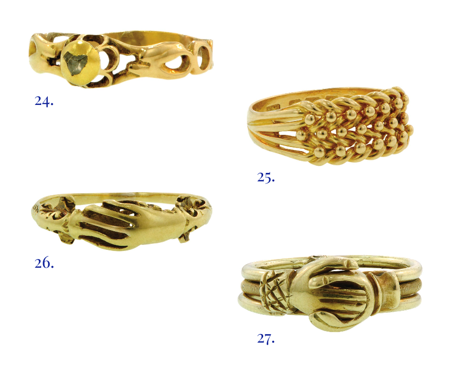 sentimental rings, fede rings