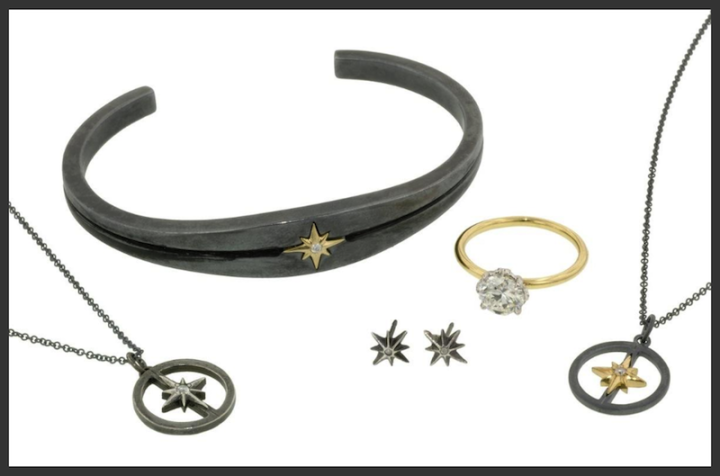 Doyle & Doyle West 13th Collection Necklace, Earrings, Bracelet, and Ring
