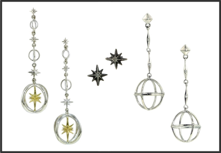 Earrings from Doyle & Doyle West 13th Collection
