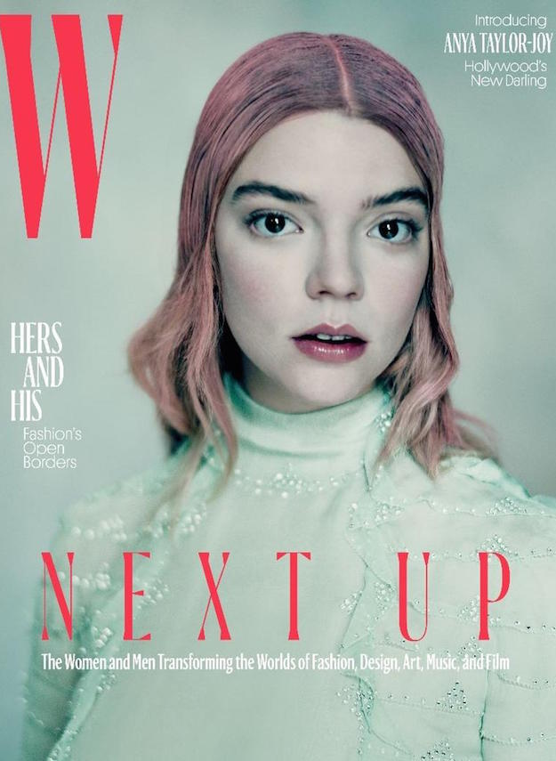 W Magazine cover April 2017 Anya Taylor Joy