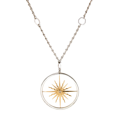 Sunburst Medallion- Heirloom by Doyle & Doyle