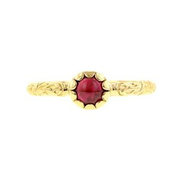 Cabochon Solitaire Ring- Heirloom by Doyle & Doyle