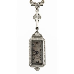 Art Deco Tiffany & Co. Diamond Watch