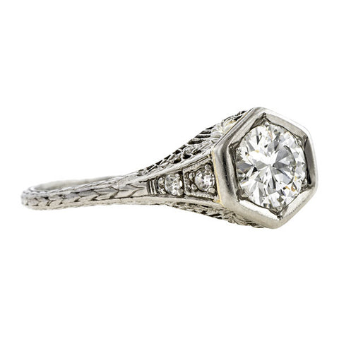 Vintage Diamond Engagement Ring, 0.65ct:: Doyle & Doyle