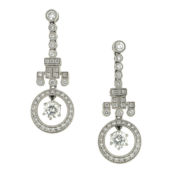 Diamond Chandelier Earrings :: Doyle & Doyle