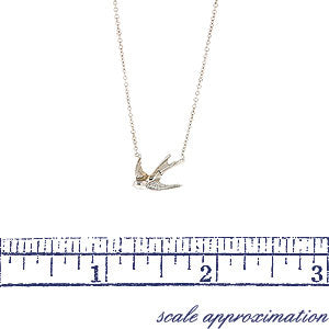 Swallow Necklace- Heirloom by Doyle & Doyle::Doyle&Doyle