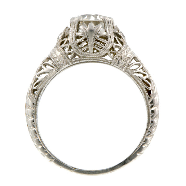 Edwardian Engagement Ring, TRB 1.05ct