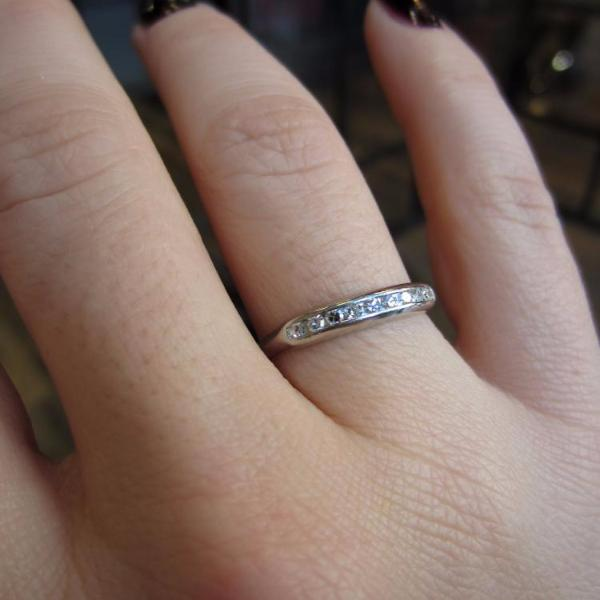 Vintage Diamond Band Ring