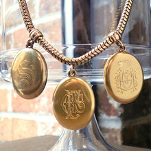 Victorian Three Locket Necklace from Doyle & Doyle