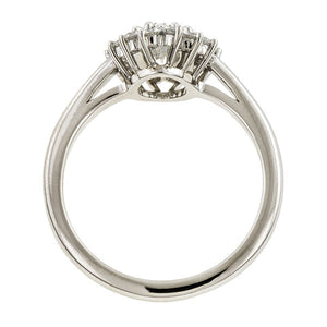 Marquise Diamond Engagement Ring, 0.85ct