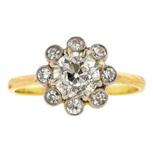 Antique Engagement Ring, Old Euro 1.04ct