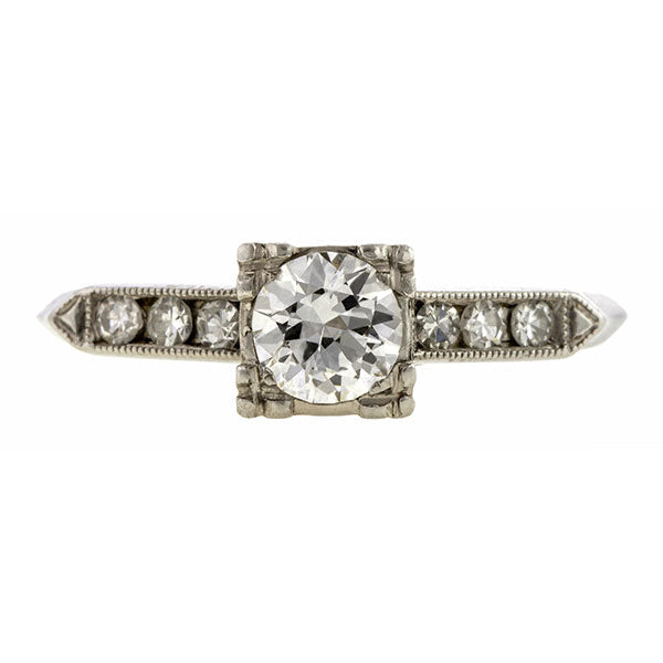 Vintage Engagement Ring, 0.40ct