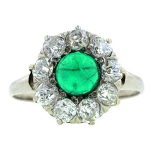 Antique Emerald & Diamond Ring : Doyle & Doyle