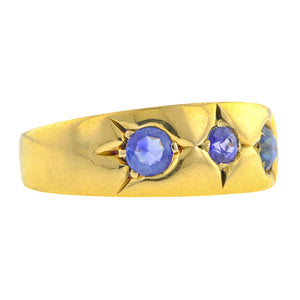 Antique Sapphire Band Ring