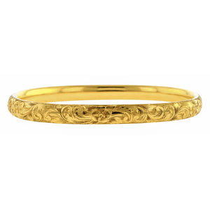 Victorian Engraved Bangle Bracelet