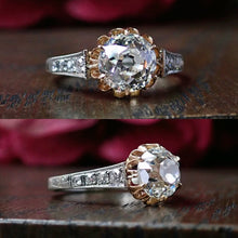 Vintage Old European cut diamond engagement ring Doyle & Doyle 107063R