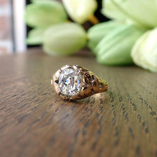 Victorian Diamond Engagement Ring, Cushion 2.05ct