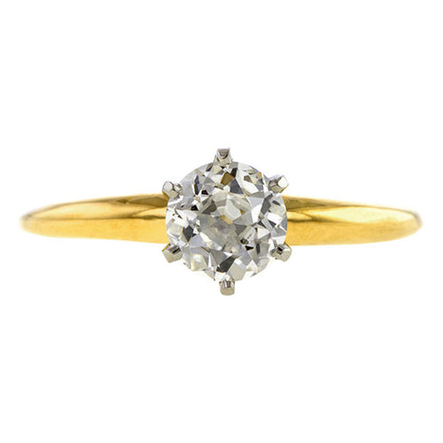 Antique Tiffany & Co. Engagement Ring, Old Euro 0.70ct