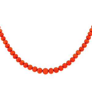 Antique Coral Bead Necklace