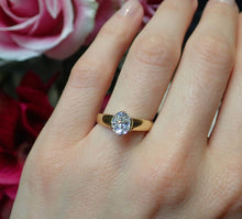 Vintage Engagement Ring, Oval 1.09ct. from Doyle & Doyle 107244R