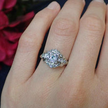 Vintage Engagement Ring, Old Mine 0.87ct. from Doyle & Doyle 107246R