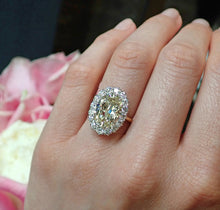 Antique Engagement Ring, Oval cut 5.27ct. from Doyle & Doyle 107248R