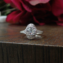 Antique Engagement Ring, Cushion cut 1.56ct. from Doyle & Doyle 107249R
