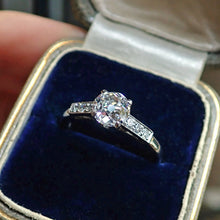 Vintage Engagement Ring, Old European 1.13ct from Doyle & Doyle 107250R