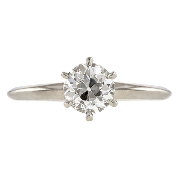 Vintage Tiffany & Co. Solitaire Engagement Ring, 1.10ct.