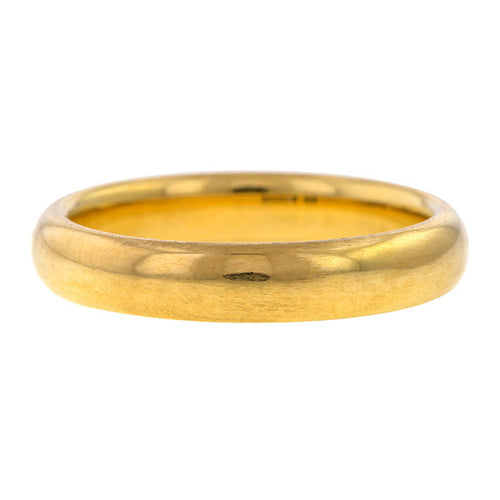 Vintage Gold Wedding Band Ring