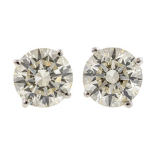 Diamond Stud Earrings, 3.01ctw, from Doyle & Doyle